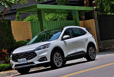 今年就要這部顏值與內涵都是頂尖的全新世代中型都會SUV—The All New Ford Kuga